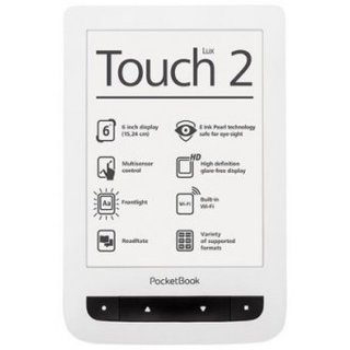 Электронная книга PocketBook 626 Touch Lux2 White
