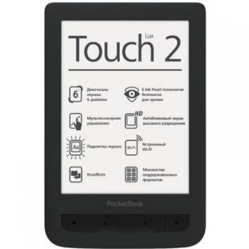Электронная книга PocketBook 626 Touch Lux2 Black